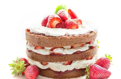 Imagem representando o segmento: Site para bolos