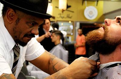Imagem representando o segmento: Criar website para barbearia