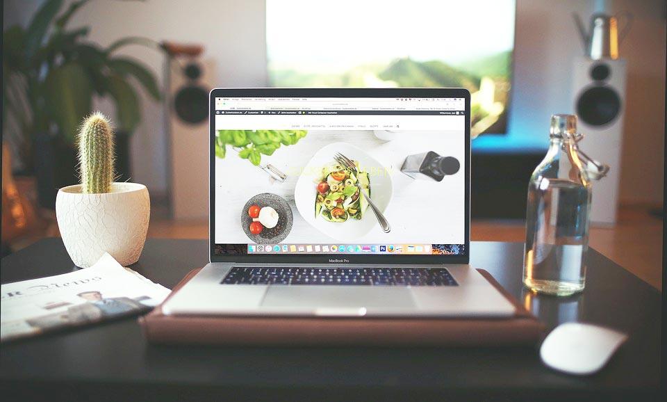 meu website online